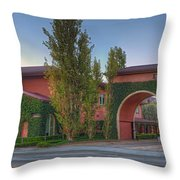 Dreamworks Studio Burbank Glendale Ca Panorama  Throw Pillow