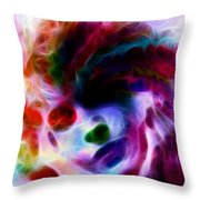 Dreamy Face Throw Pillow