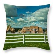 Dreamy Farmhouse Throw Pillow