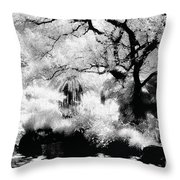 Dreamy Gardens - 1007 Throw Pillow