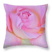 Dreamy Pink Throw Pillow