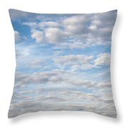 Dreamy Sky Throw Pillow