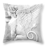 Dreamy Sphinx Throw Pillow