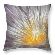 Dreamy Waterlily Throw Pillow