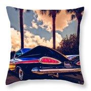 Dreemy 59 Impala - How Do U Live W/o It? Throw Pillow