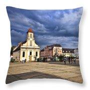 Dreienigkeitskirche Ludwigsburg Throw Pillow