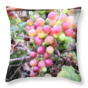 Drenched Future Vintage Throw Pillow