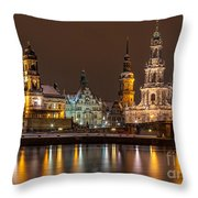 Dresden The Capital Of Saxony I Throw Pillow