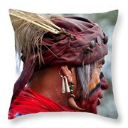 Dressed For Battle Throw Pillow