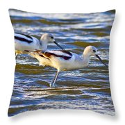 Dribbling Contest Throw Pillow