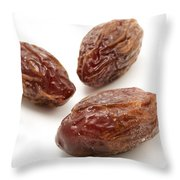 Dried Medjool Dates Throw Pillow