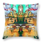 Dries Call 7 Throw Pillow