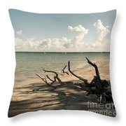 Drift Away Throw Pillow
