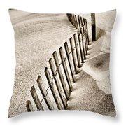 Drift Iv Throw Pillow