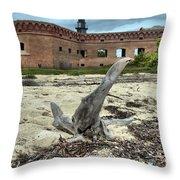Drift Wood Seal Throw Pillow