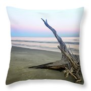 Driftwood At Dusk Throw Pillow