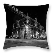 Drink And Sleep Throw Pillow