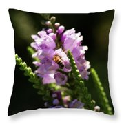 Drink Of Nectar Throw Pillow