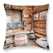 Drinking And Gambling Throw Pillow by Cat Connor