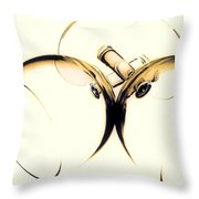 Drinks Are On Me Throw Pillow