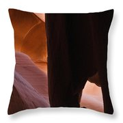 Dripping Cone Throw Pillow