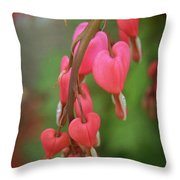 Dripping With Love Throw Pillow by Mary Machare