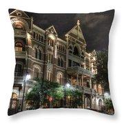 Driskill Hotel Throw Pillow