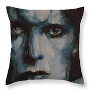 Drive In Saturday Throw Pillow by Paul Lovering