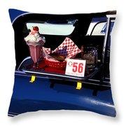 Drive-in Sundays Throw Pillow