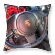 Drive Me Throw Pillow