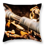 Drive Shaft - 1 Throw Pillow