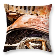 Drive The Tires Off Throw Pillow