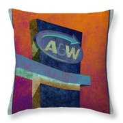 Drive Thru II Throw Pillow