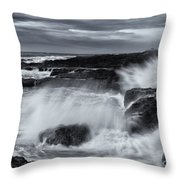 Driven By The Storm Throw Pillow