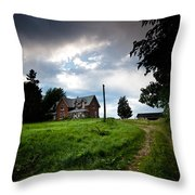 Driveway Home Throw Pillow by Cale Best