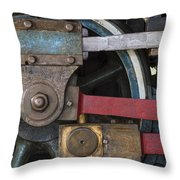 Drivin' Wheel Throw Pillow