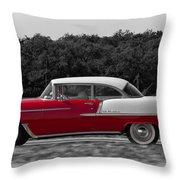 Driving A Dream Throw Pillow