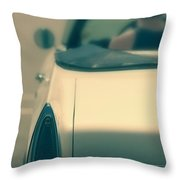Driving In A Convertible Throw Pillow