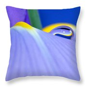 Drop Of Spring Throw Pillow