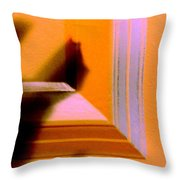 Dropped Shadow Throw Pillow