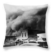 Drought, 1934 Throw Pillow