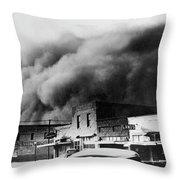Drought, 1934 Throw Pillow