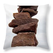 Druid Cairn  Throw Pillow