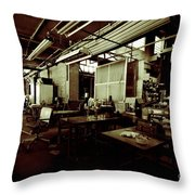 Dry Cleaning Plant Throw Pillow