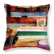 Dry Goods For Sale Throw Pillow