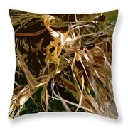 Dry Palms 2 Throw Pillow