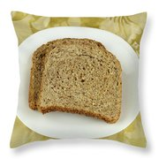 Dry Toast Throw Pillow