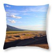 Dry Valley Vista Throw Pillow