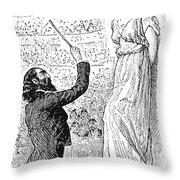 Du Maurier: Trilby, 1894 Throw Pillow