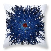 Dual Citizenship 1 Throw Pillow